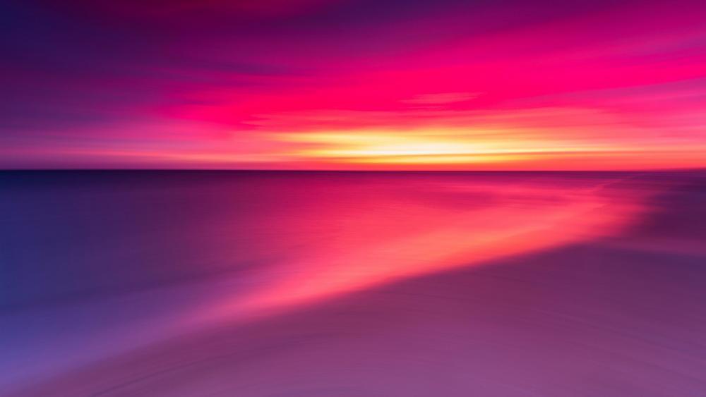 Spectacular sunrise wallpaper