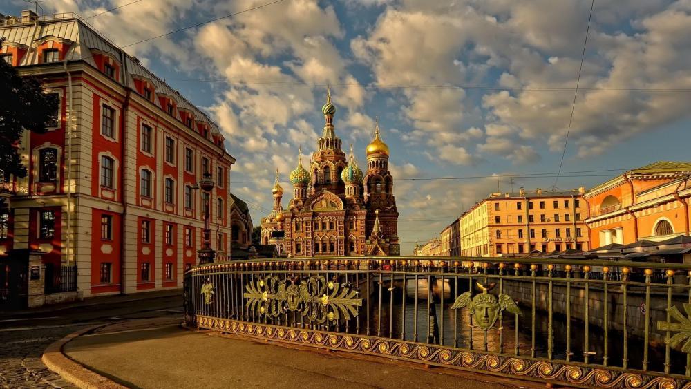 Church of the Savior on Blood (St. Petersburg) wallpaper