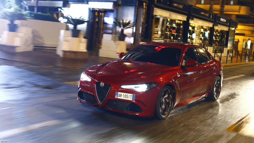 Alfa Romeo Giulia QV wallpaper