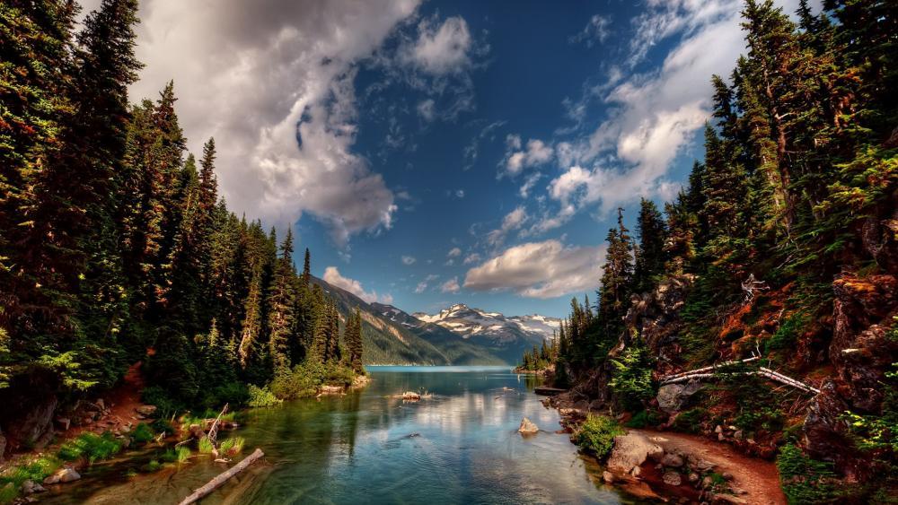 Garibaldi Lake in British Columbia, Canada wallpaper