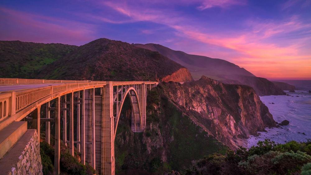 Bixby Bridge (Big Sur, California) wallpaper