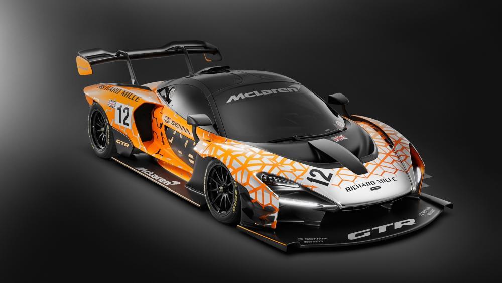 McLaren Senna GTR wallpaper