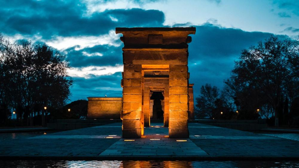 Temple of Debod (Madrid, Spain) wallpaper