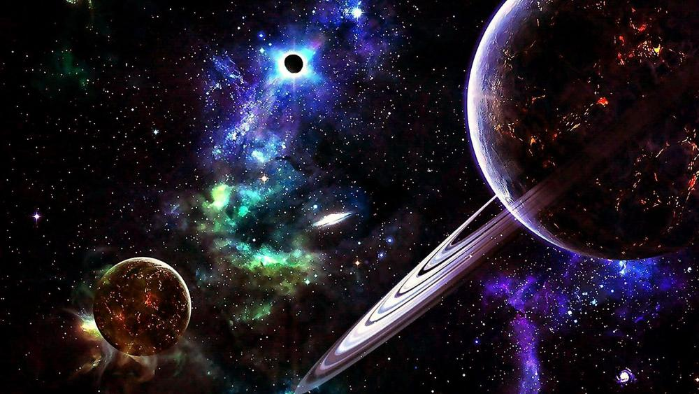 Planets In The Universe wallpaper