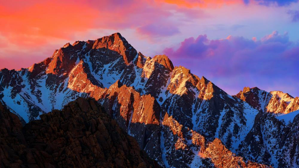 Lone Pine Peak (Alabama Hills) wallpaper
