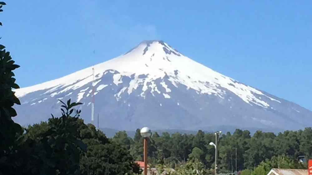 Volcan Villarica wallpaper