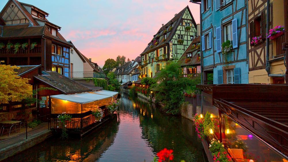 Little Venice (Colmar, France) wallpaper