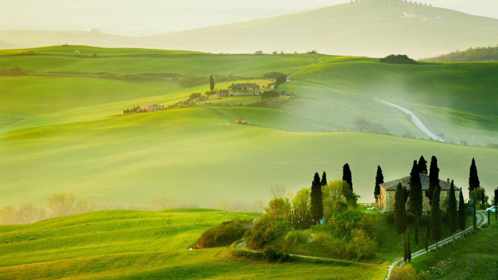 Italian idyll wallpaper