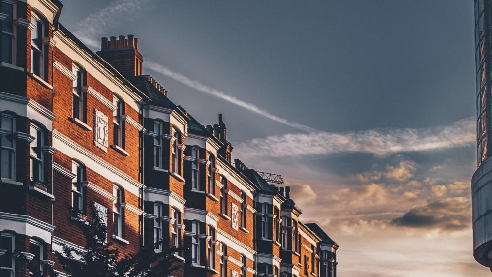 Condominium in Brixton (London) wallpaper