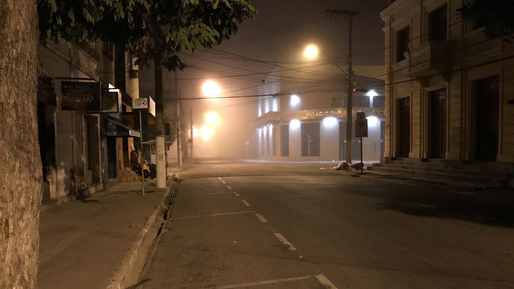 Foggy Night wallpaper