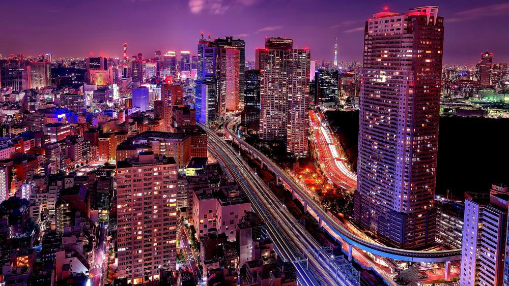 Shiodome City Center (Tokyo) wallpaper