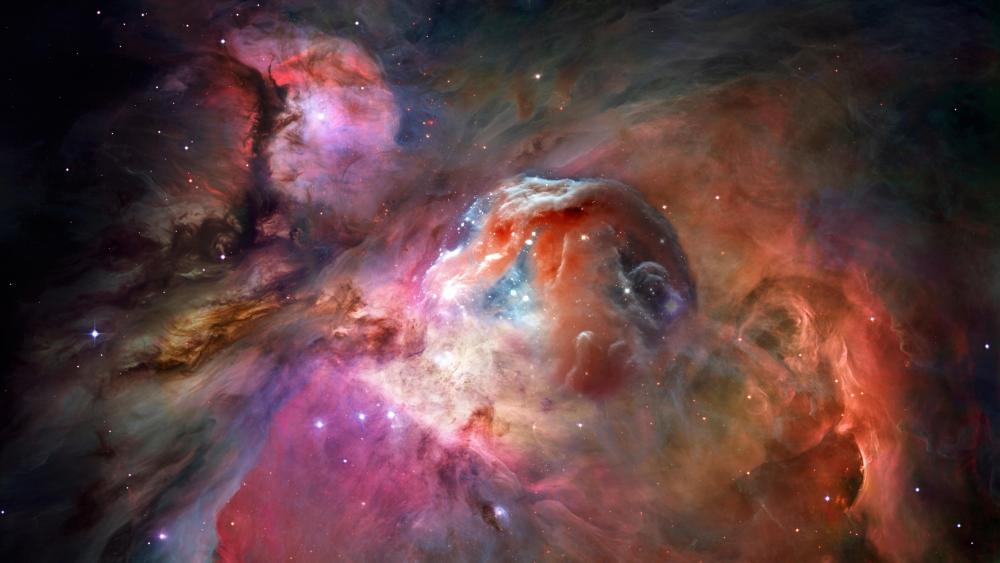 The Orion Nebula (Messier 42) wallpaper