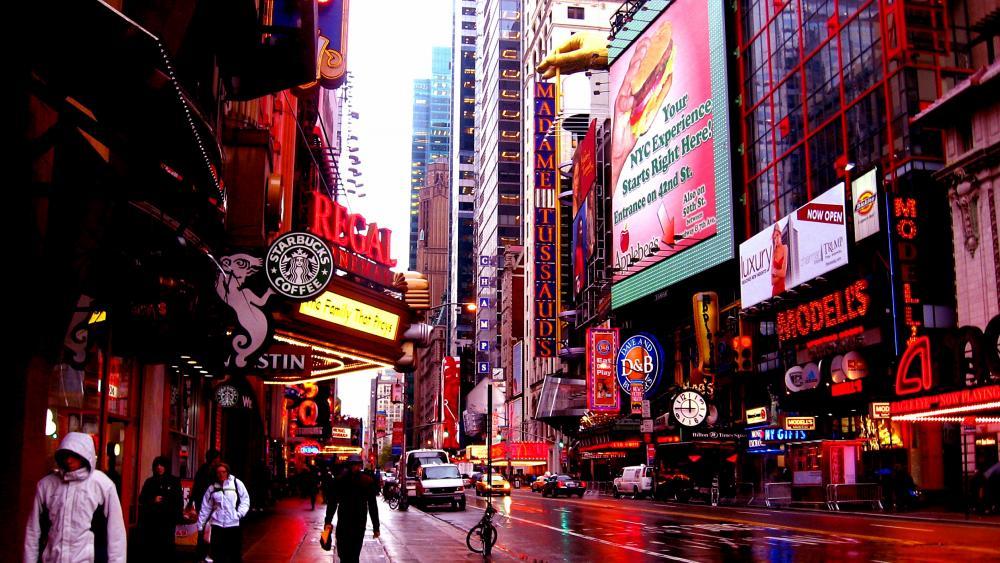 42nd Street Photo (New York) wallpaper