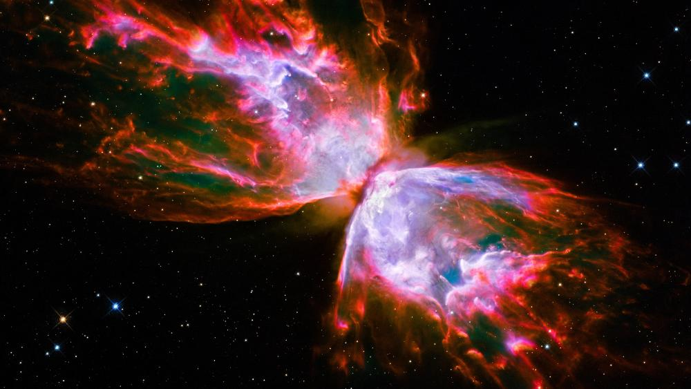 Butterfly Nebula wallpaper