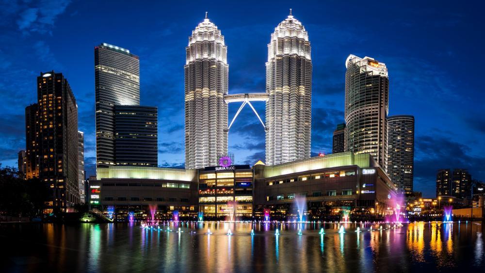 Petronas Twin Towers wallpaper