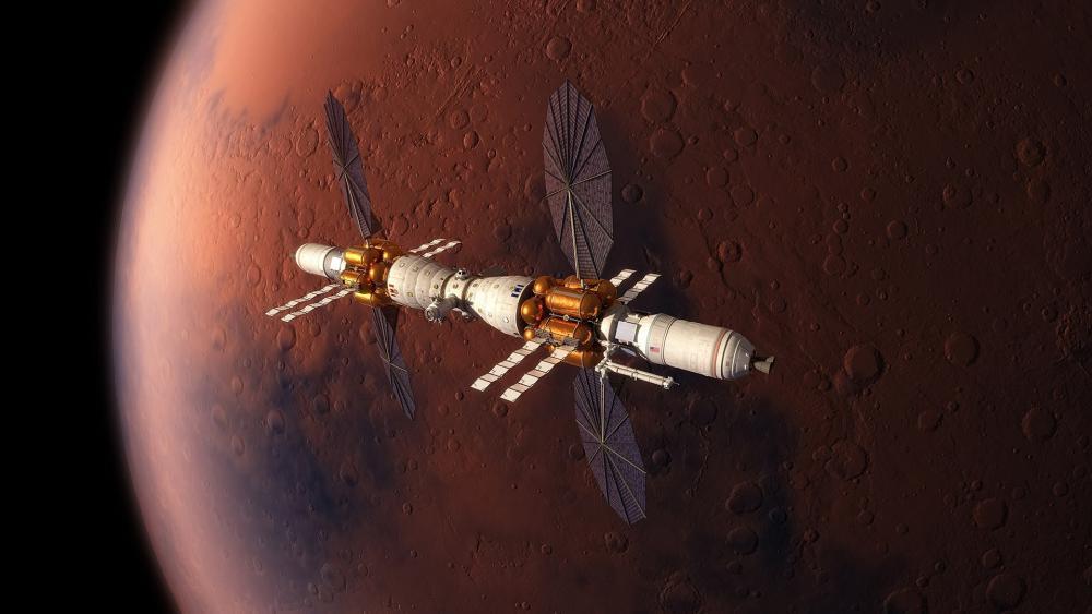 Mars Base Camp wallpaper