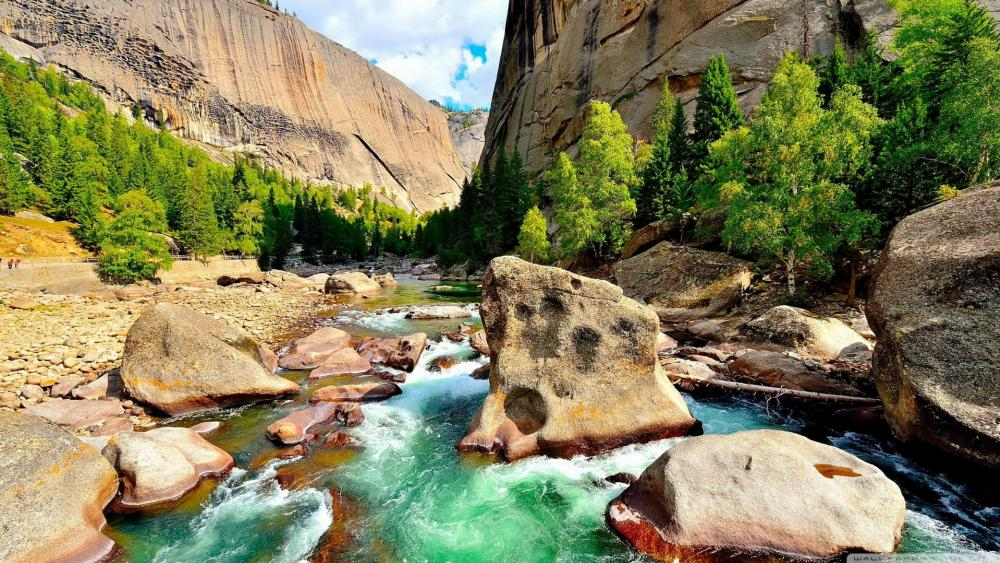 River Rocks wallpaper