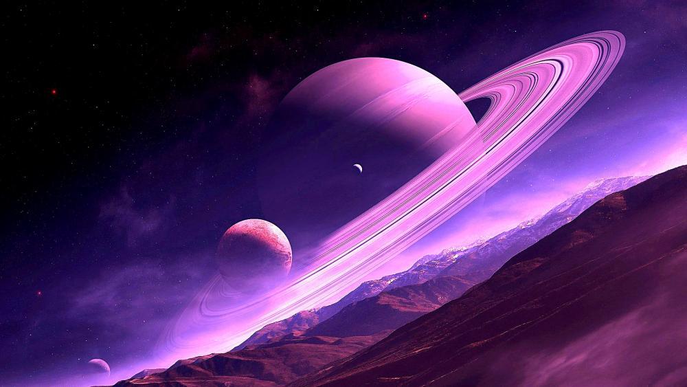 Saturn Dream wallpaper
