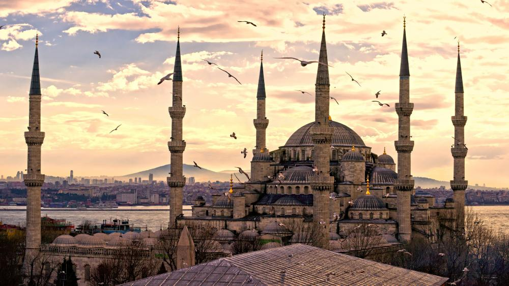 Sultan Ahmed Mosque wallpaper