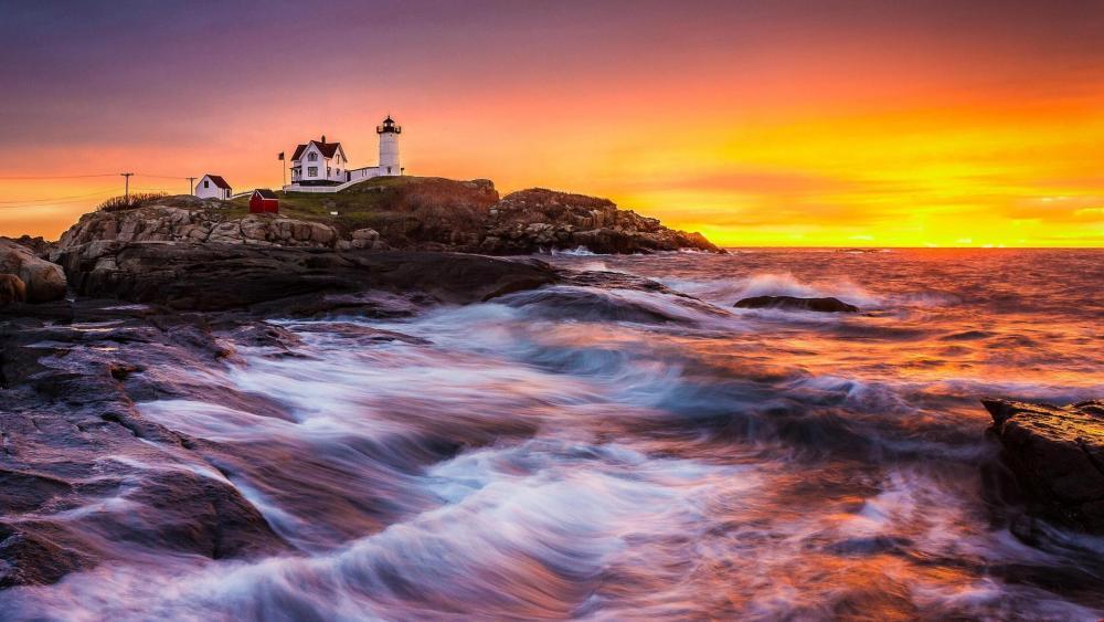 Cape Neddick Lighthouse wallpaper