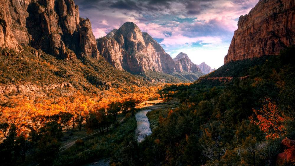 Zion National Park wallpaper