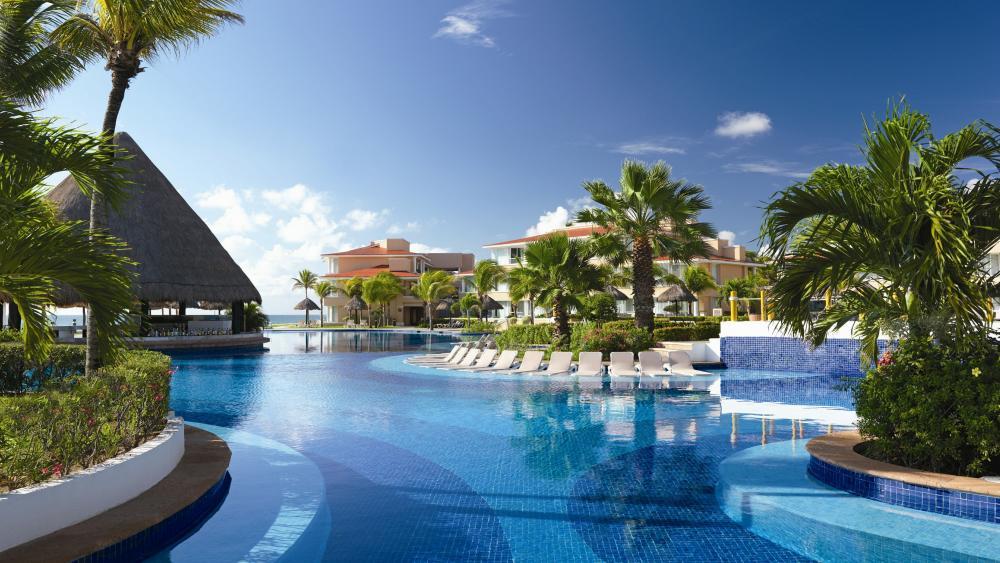 Vacation at Cancun wallpaper