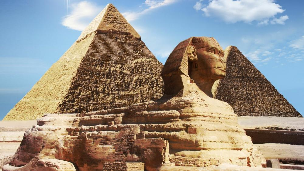 Great Sphinx of Giza wallpaper