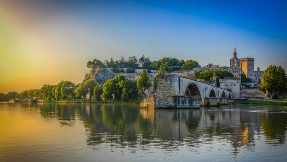 Saint-Bénézet bridge, Avignon wallpaper