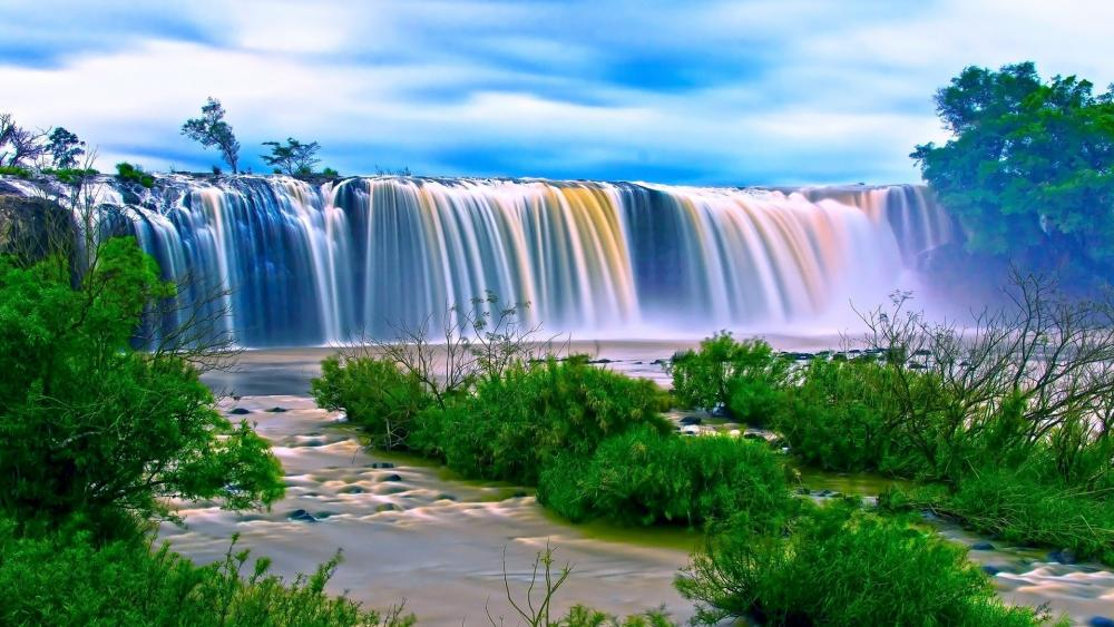 Dray Nur Waterfall (Vietnam) wallpaper