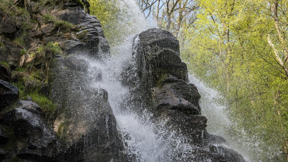 Trusetaler Waterfall (Germany) wallpaper