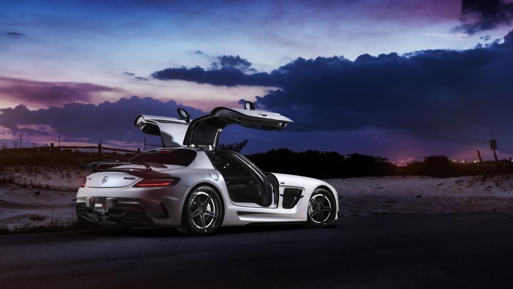 Mercedes SLS AMG Coupe wallpaper