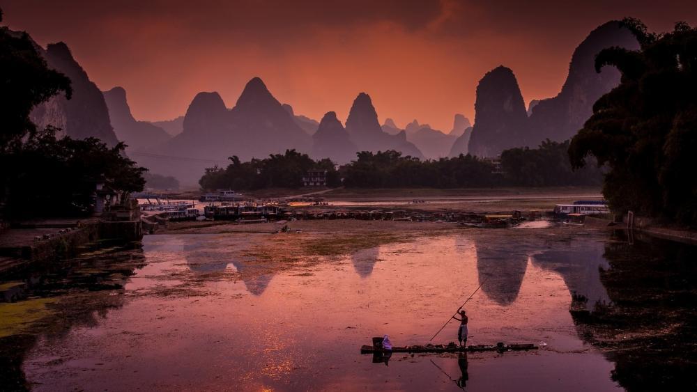 Li River wallpaper