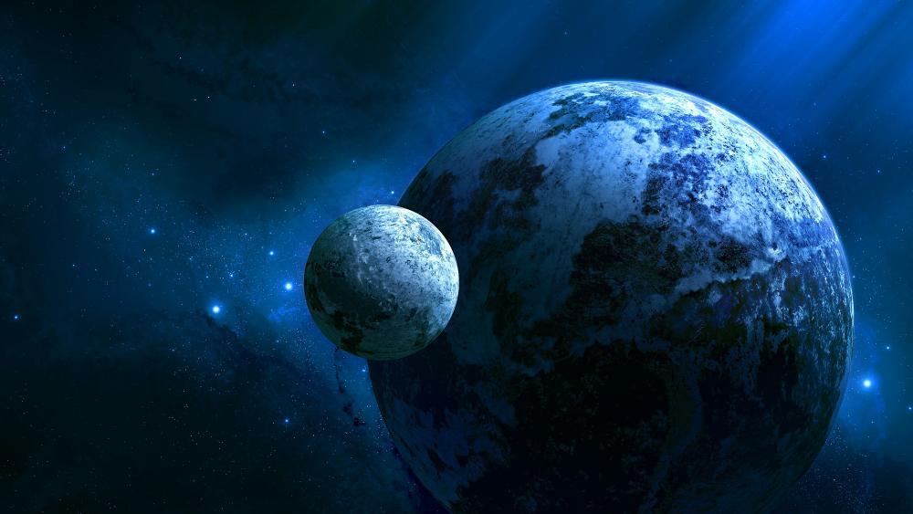 Glimpse Of Universe wallpaper