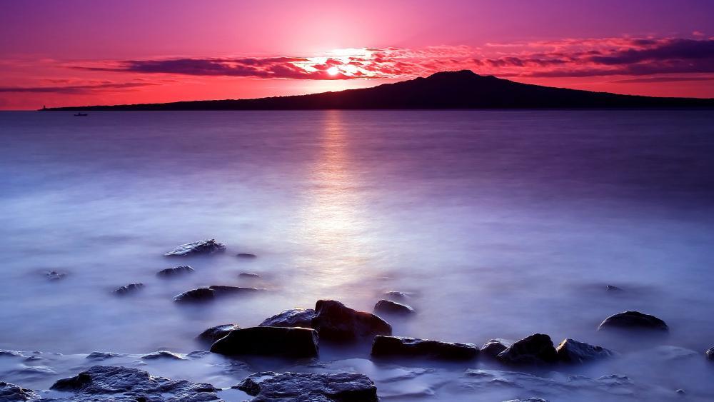 Morning Sea wallpaper