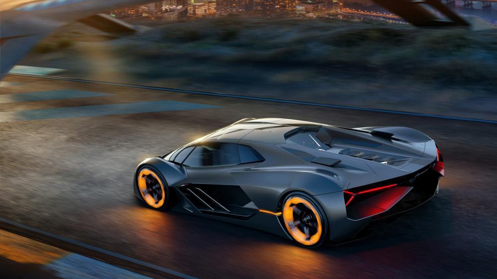 2019 Lamborghini Terzo Millennio EV Concept wallpaper