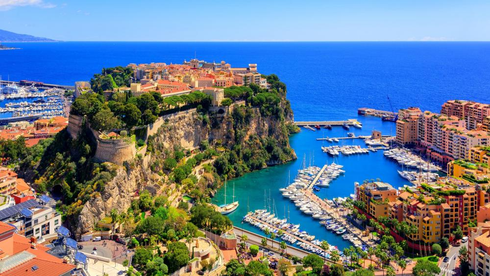 Port de Fontvieille wallpaper