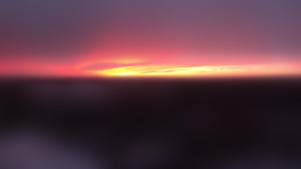 SunsetG Super Blur wallpaper