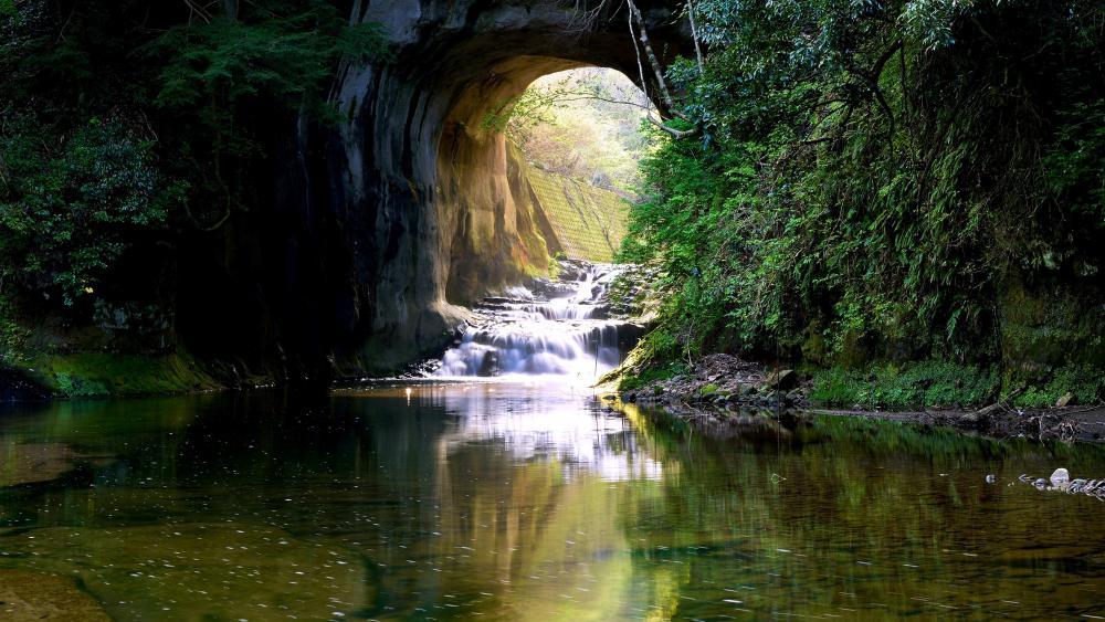 Nomizo Falls (Kimitsu, Japan) wallpaper