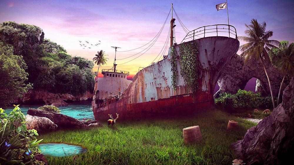 Dead Ship wallpaper