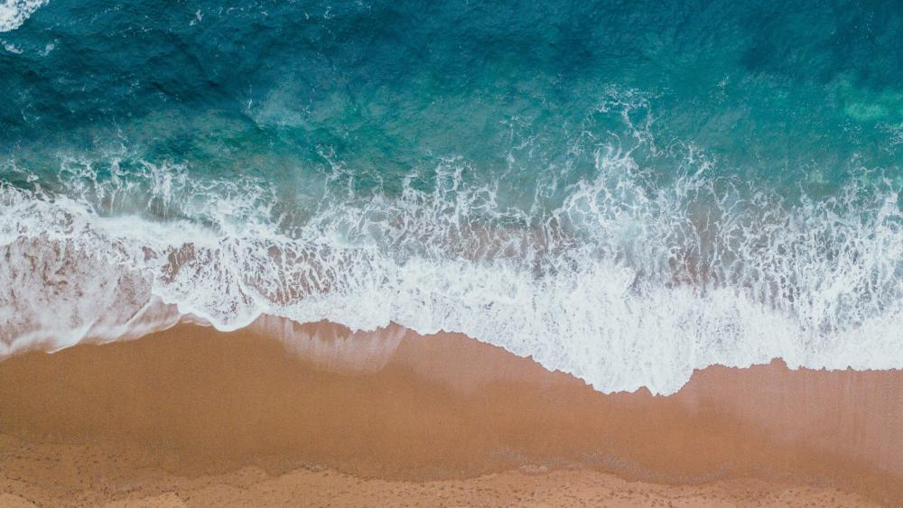 Waves wallpaper