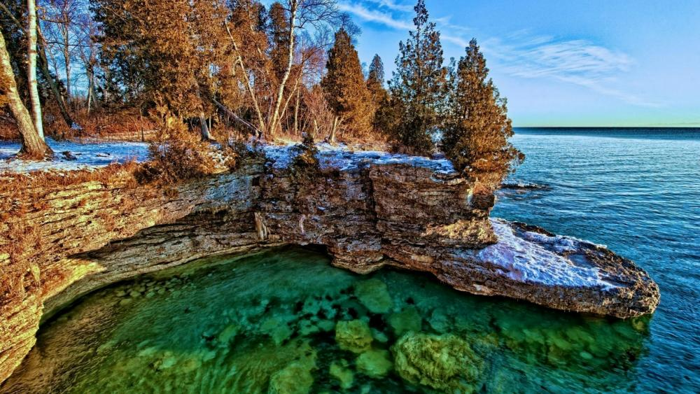 Lake Michigan wallpaper