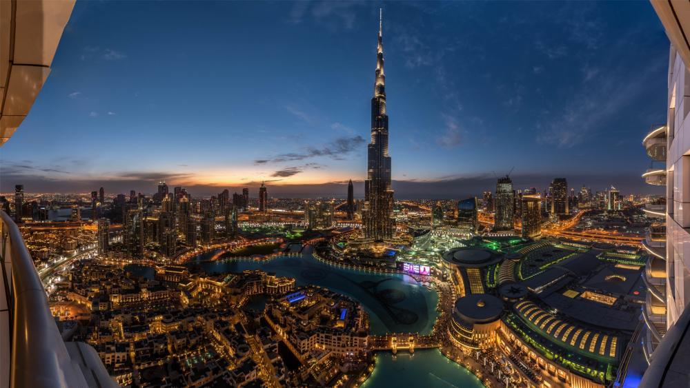 Burj Khalifa, Dubai wallpaper