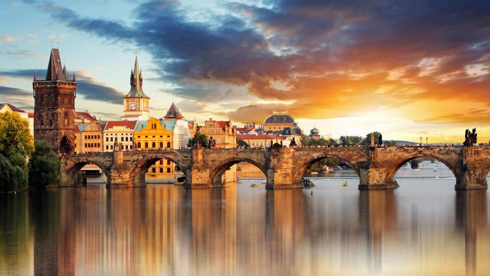 Charles Bridge (Prague) wallpaper