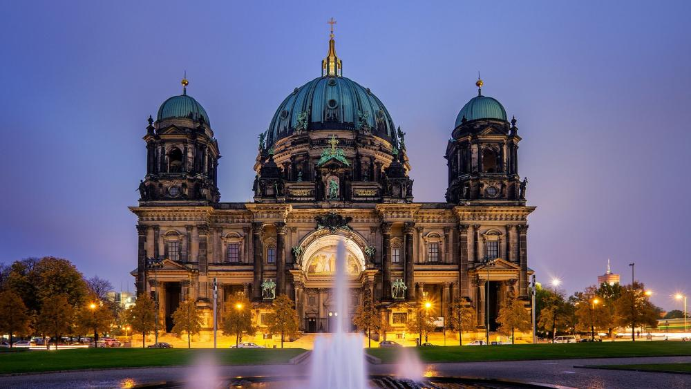 Berlin Cathedral wallpaper