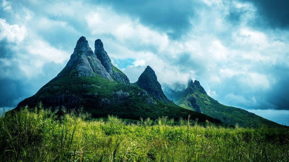 Mont du Rempart (Mauritius) wallpaper