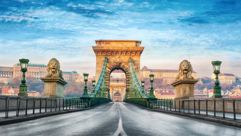 Széchenyi Chain Bridge wallpaper