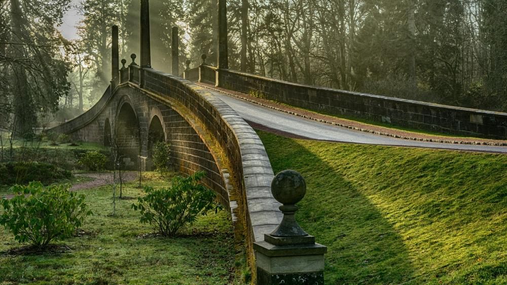 Dumfries House bridge wallpaper