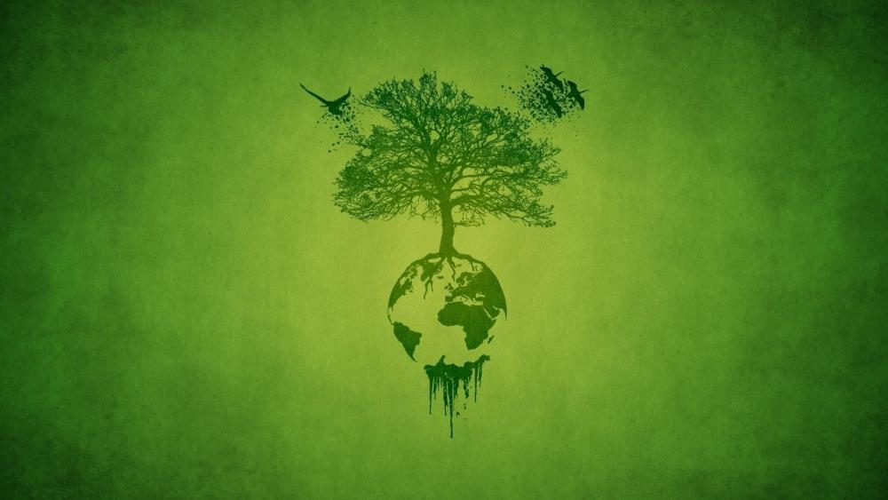 Tree on Earth wallpaper