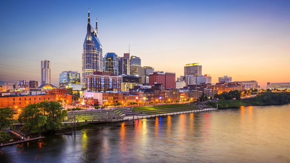 Nashville & Cumberland River wallpaper