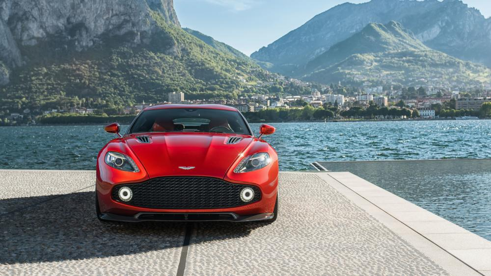 Aston Martin Vanquish Zagato wallpaper